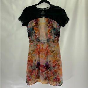 LOVE floral dress size xs
